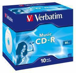 2022274-Verbatim-Music-CD-R-700-MB-10-pezzo-i-CDR-AUDIO-LIVE-IT-COLOURS-Musi miniatura 2