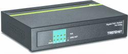2022274-Trendnet-TPE-TG50g-Gigabit-Ethernet-10-100-1000-Nero-Supporto-Power-ov miniatura 2