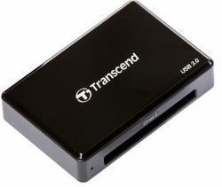 2044314-Transcend-CFast-2-0-USB3-0-lettore-di-schede-Nero-CARDREADER-CFAST-USB miniatura 2