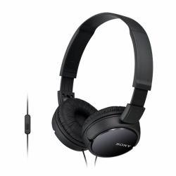 2088881-Sony-MDR-ZX110AP-MDRZX110APB-CE7-Headphones-Over-Ear-Headphones-Black miniatura 2