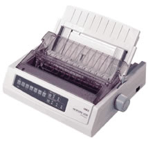 2044315-Oki-ML3320-Eco-Version-Dot-Matrix-Printer miniatura 2