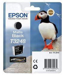 2044458-e-T3248-Matte-Black-HI-GLOSS2-T3248-PUFFIN-SINGLEPACK-1X14-0ML-BLACK miniatura 2