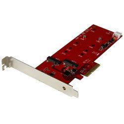 2465436-StarTech-com-Scheda-controller-PCI-express-2x-SSD-M-2-Adattatore-M miniatura 2