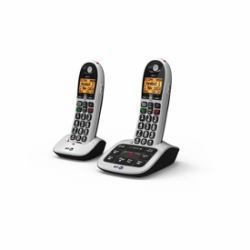 2061337-BT-BT4600-Twin-Big-Button-Dect-Telephone-with-Answer-Machine miniatura 2