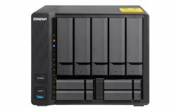2044193-QNAP-TS-932X-Collegamento-ethernet-LAN-Torre-Nero-NAS-TS-932X-2G-5-4-BA miniatura 2