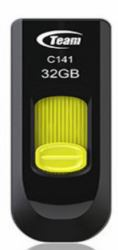 2092045-Team-Group-C141-unita-flash-USB-32-GB-USB-tipo-A-2-0-Nero-Giallo-Team miniatura 2