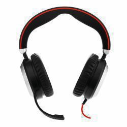 2022274-Jabra-Evolve-80-Stereo-MS-USB-C-Cuffia-Padiglione-auricolare-Nero-Jabra miniatura 2