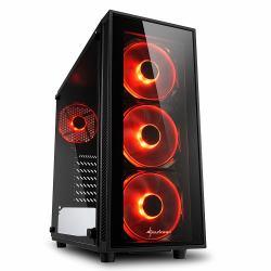 2044315-Sharkoon-TG4-Midi-Tower-Nero-TG4-ROT-TG4-ATX-2x-8-89-cm-3-5-amp-quot miniatura 2