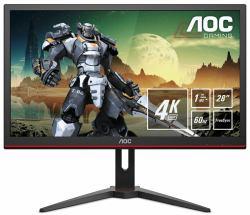2022026-AOC-Gaming-G2868PQU-monitor-piatto-per-PC-71-1-cm-28-3840-x-2160-Pixel miniatura 2