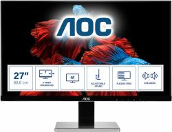 2044287-AOC-Pro-line-U2777PQU-monitor-piatto-per-PC-68-6-cm-27-3840-x-2160-Pix miniatura 2