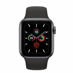 2022274-Apple-Watch-Series-5-smartwatch-Grigio-OLED-Cellulare-GPS-satellitare miniatura 2