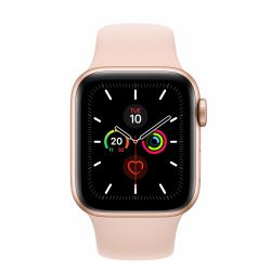 2022274-Apple-Watch-Series-5-smartwatch-Oro-OLED-GPS-satellitare-Apple-Watch miniatura 2