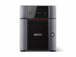 2022274-Buffalo-TeraStation-3410DN-Collegamento-ethernet-LAN-Scrivania-Nero-NAS miniatura 2