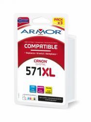 2022026-Armor-B10385R1-cartuccia-d-039-inchiostro-Ciano-Magenta-Giallo-ARMOR-ALTE miniatura 2
