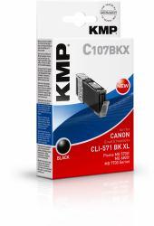 2022026-KMP-C107BKX-cartuccia-d-039-inchiostro-Nero-11-ml-KMP-C107BKX-11-ml-Hoh miniatura 2