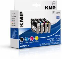 2022026-KMP-E121V-cartuccia-d-039-inchiostro-Nero-Ciano-Magenta-Giallo-5-9-ml-3-5 miniatura 2