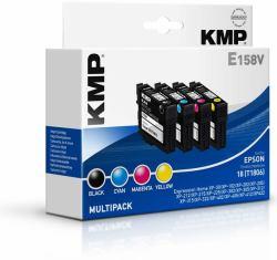2022026-KMP-E158V-cartuccia-d-039-inchiostro-Nero-Ciano-Magenta-Giallo-5-ml-3-ml miniatura 2
