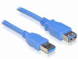 2022274-DeLOCK-USB-3-0-male-female-A-A-3m-cavo-USB-USB-A-Blu-DeLOCK-USB-Ver miniatura 2