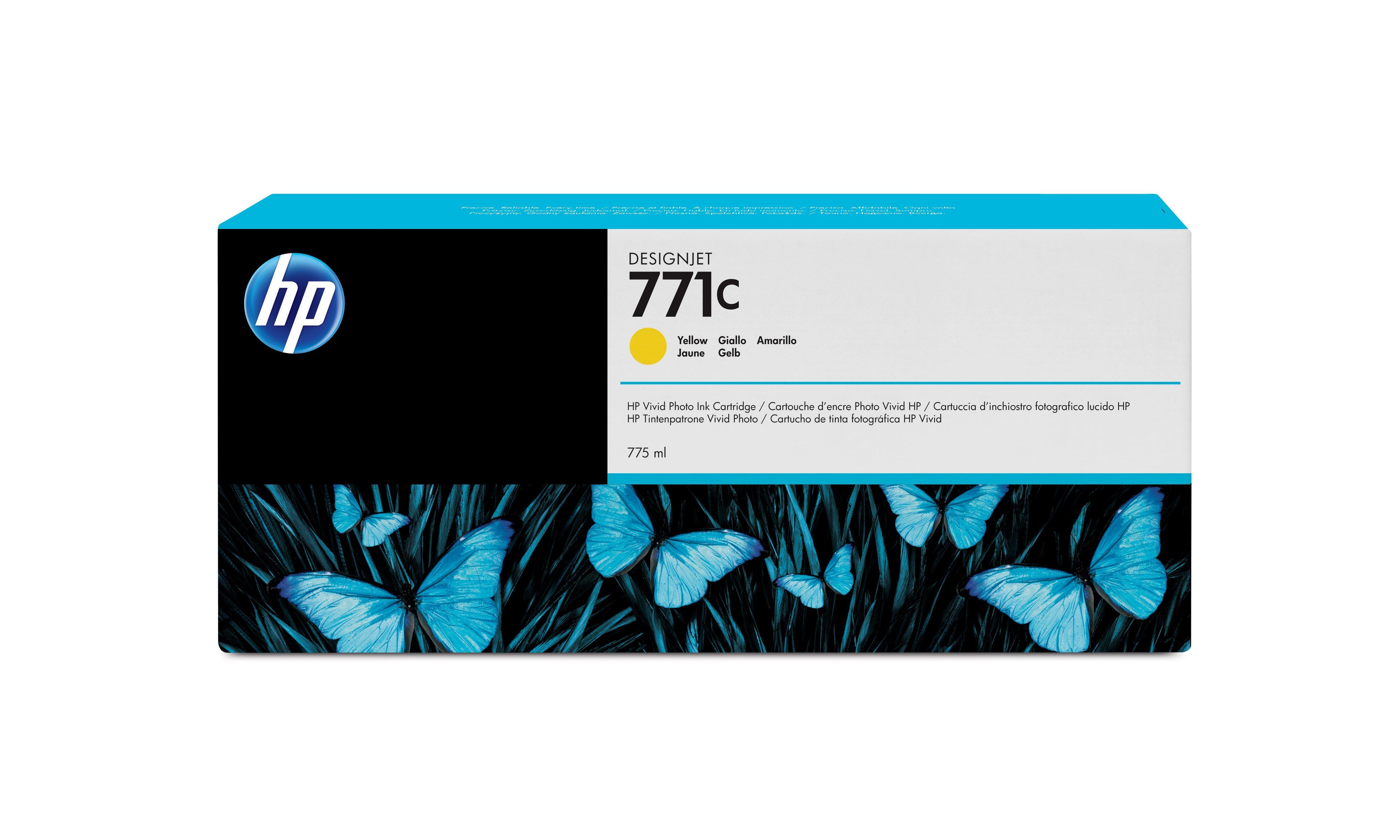 2022274-HP-771C-Originale-Giallo-HP-771C-775-ml-Gelb-Original-Tintenpat