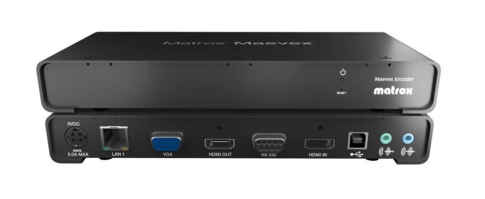 2022274-Matrox-Maevex-5150-Encoder-MVX-E5150F-MAEVEX-VIDEO-OVER-IP-ENCODER