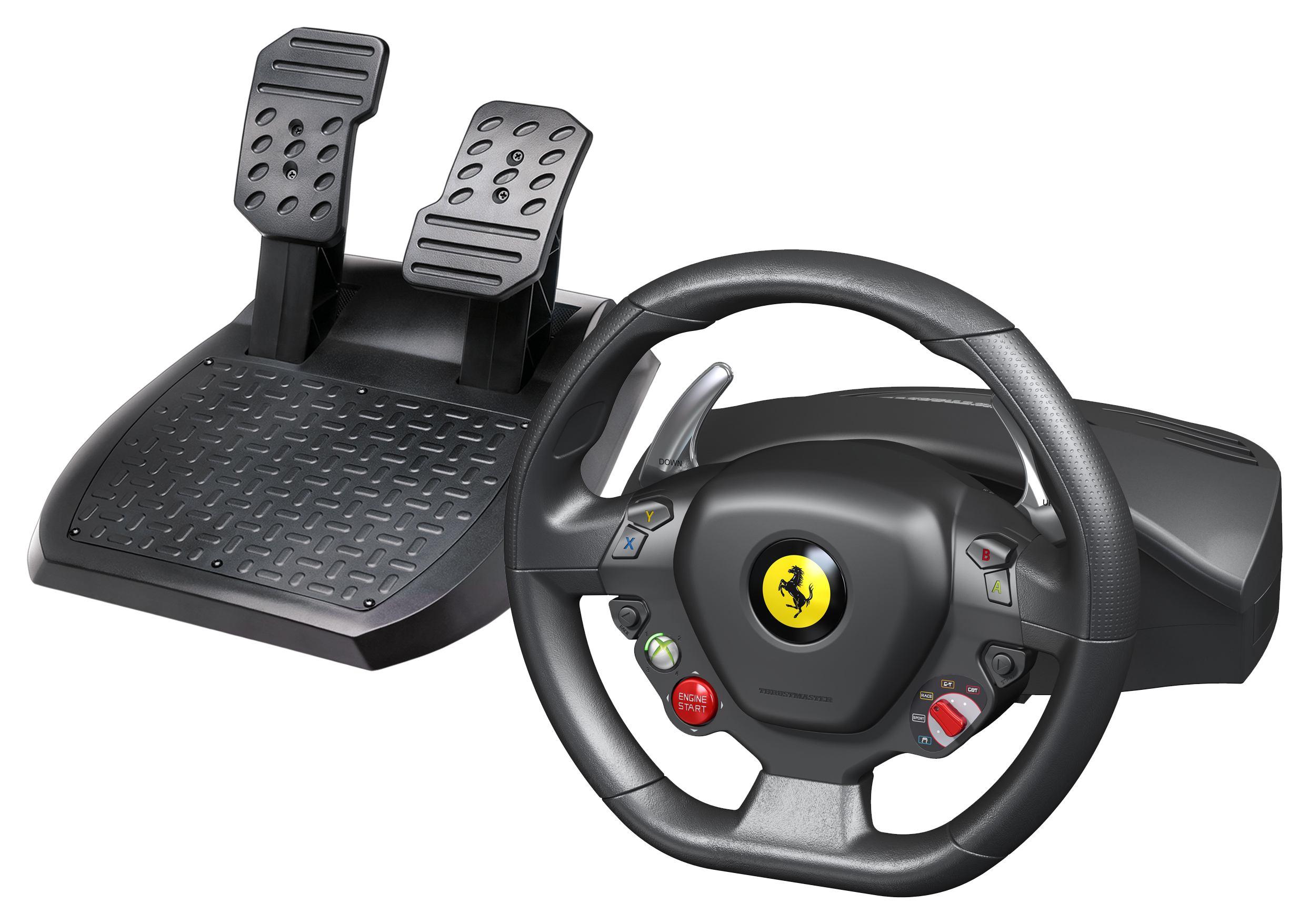 2022026-Thrustmaster-Ferrari-458-Italia-Sterzo-Pedali-PC-Nero-Thrustmaster-Fe