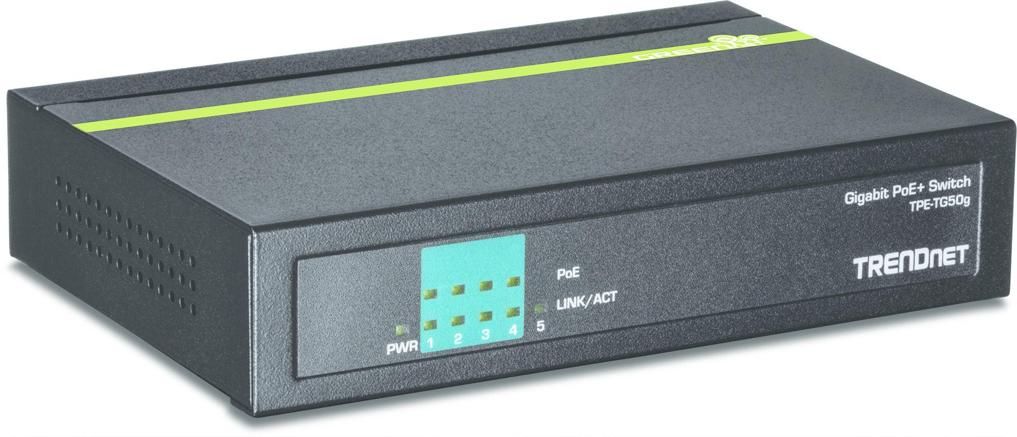 2022274-Trendnet-TPE-TG50g-Gigabit-Ethernet-10-100-1000-Nero-Supporto-Power-ov