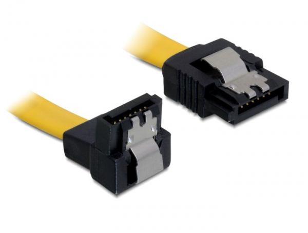 2022026-DeLOCK-0-5m-SATA-M-M-cavo-SATA-0-5-m-Giallo-DeLOCK-Cable-SATA-SATA-Ka