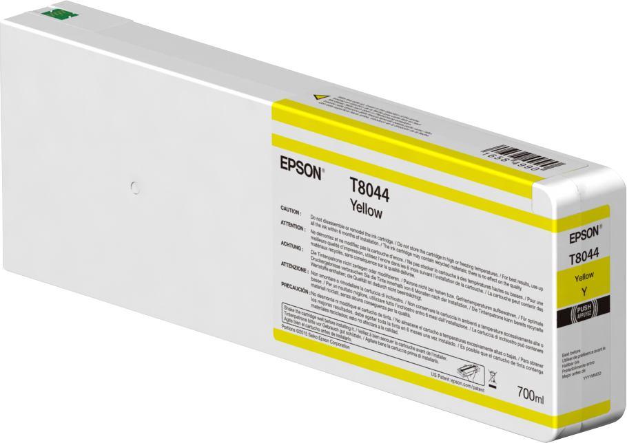 2489010-e-Singlepack-Yellow-T804400-UltraChrome-HDX-HD-700ml-e-C13T804400-T80