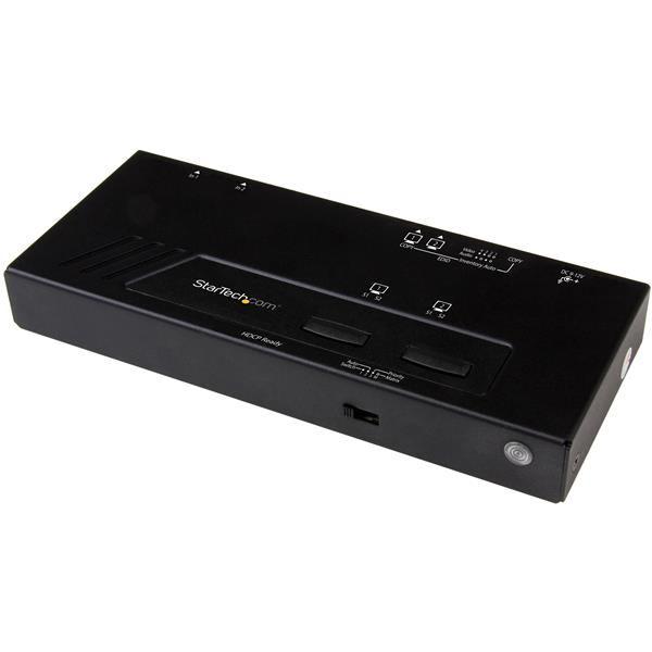2061192-StarTech-com-VS222HD4K-commutatore-video-HDMI-2x2-HDMI-Matrix-Switch