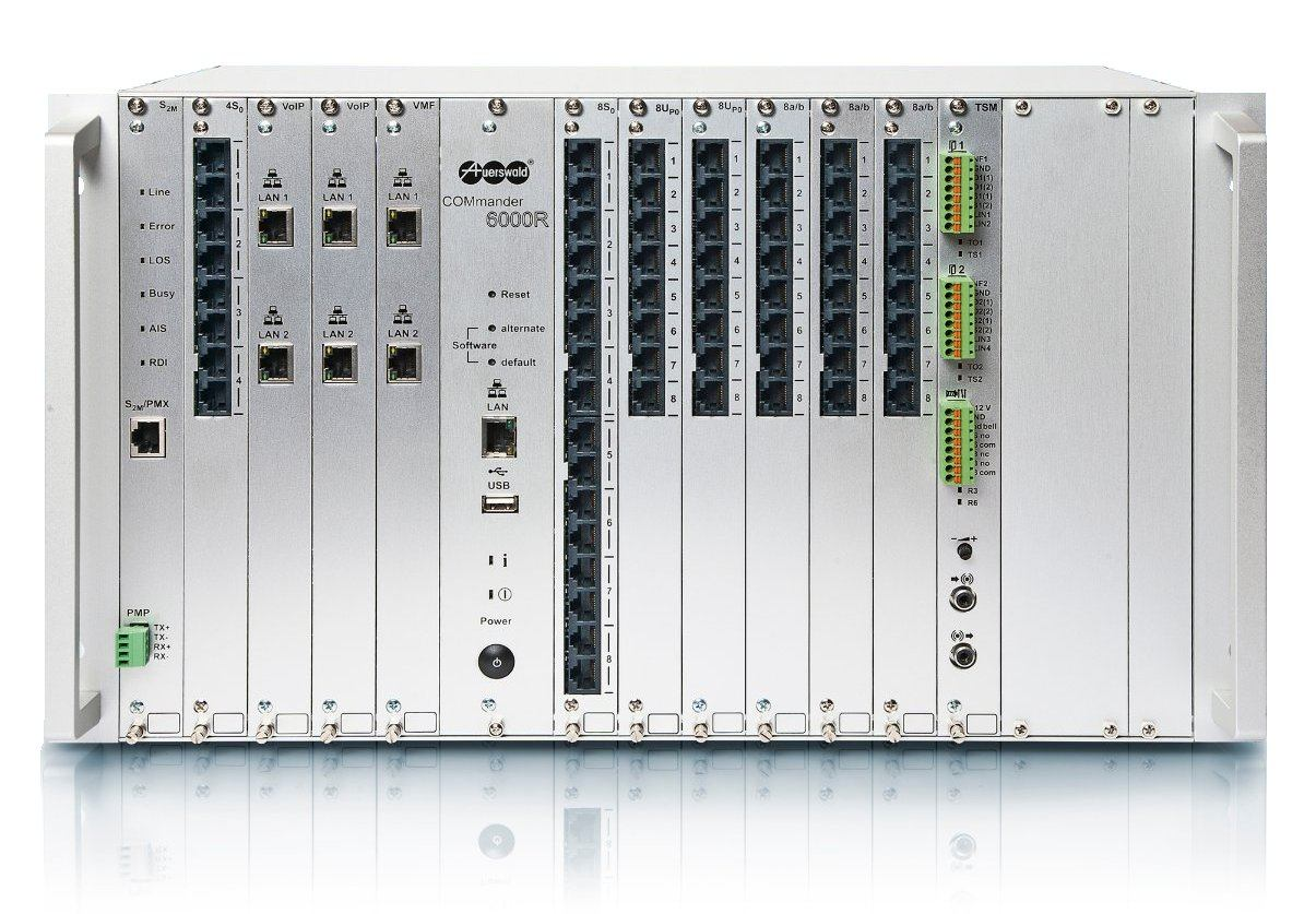 2022025-Auerswald-COMmander-6000RX-COMMANDER-6000RX-19IN-HOUSING-ISDN-voice