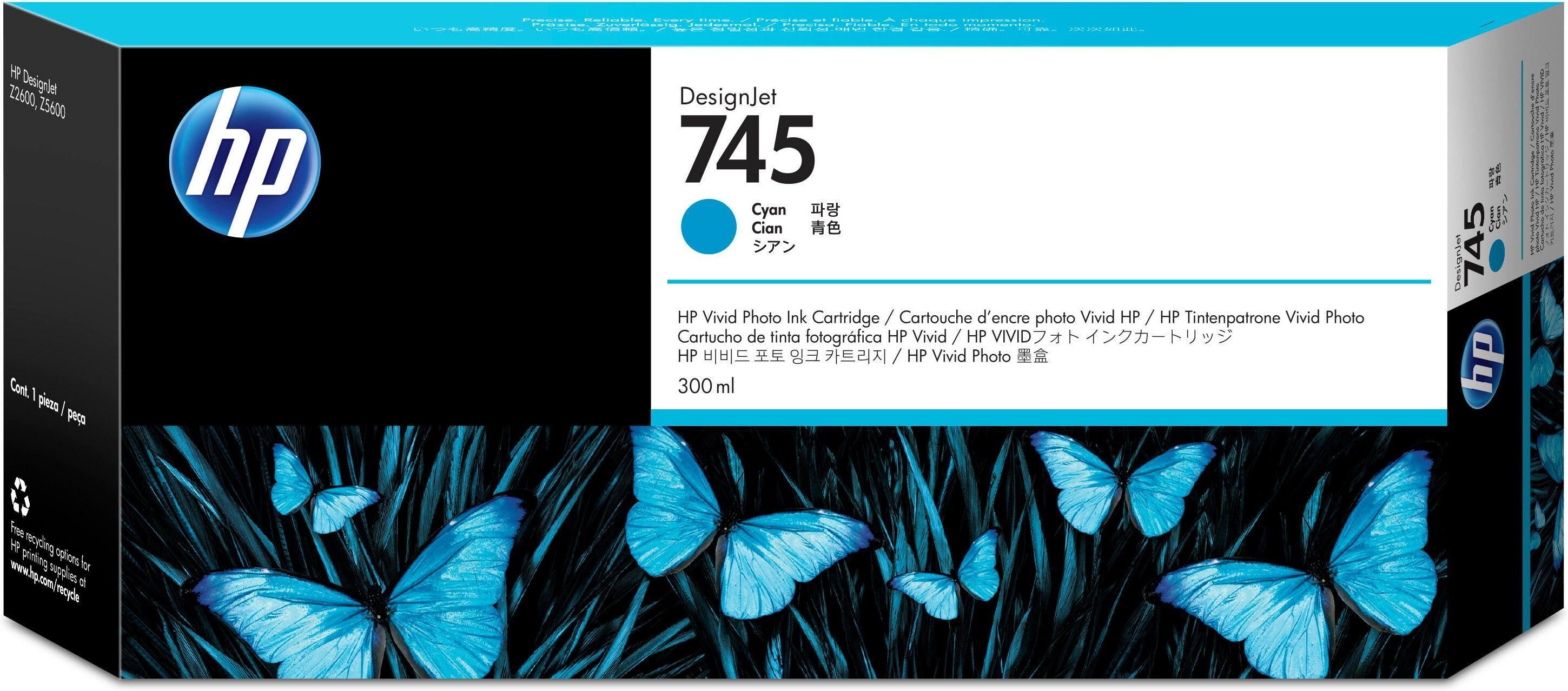 2022274-HP-745-Originale-Ciano-HP-745-300-ml-mit-hoher-Kapazitat-Cyan-O