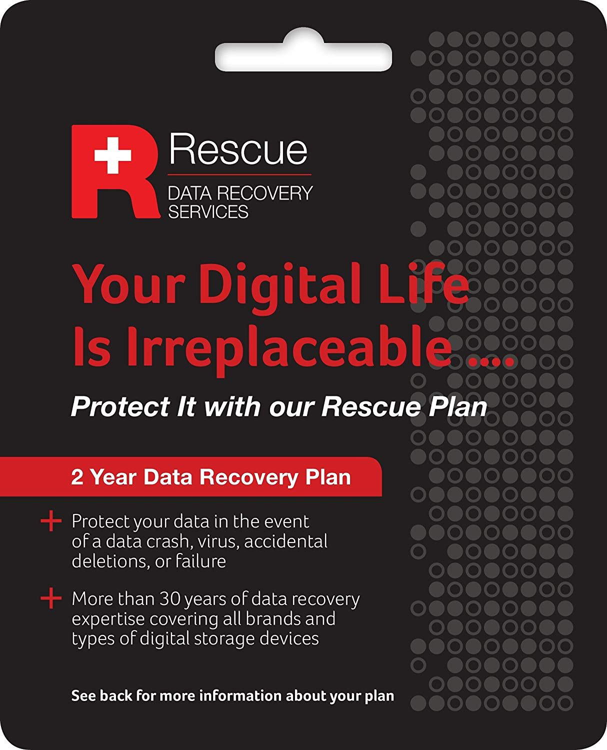 Rescue Data Recovery for HDD/SSD 2 year