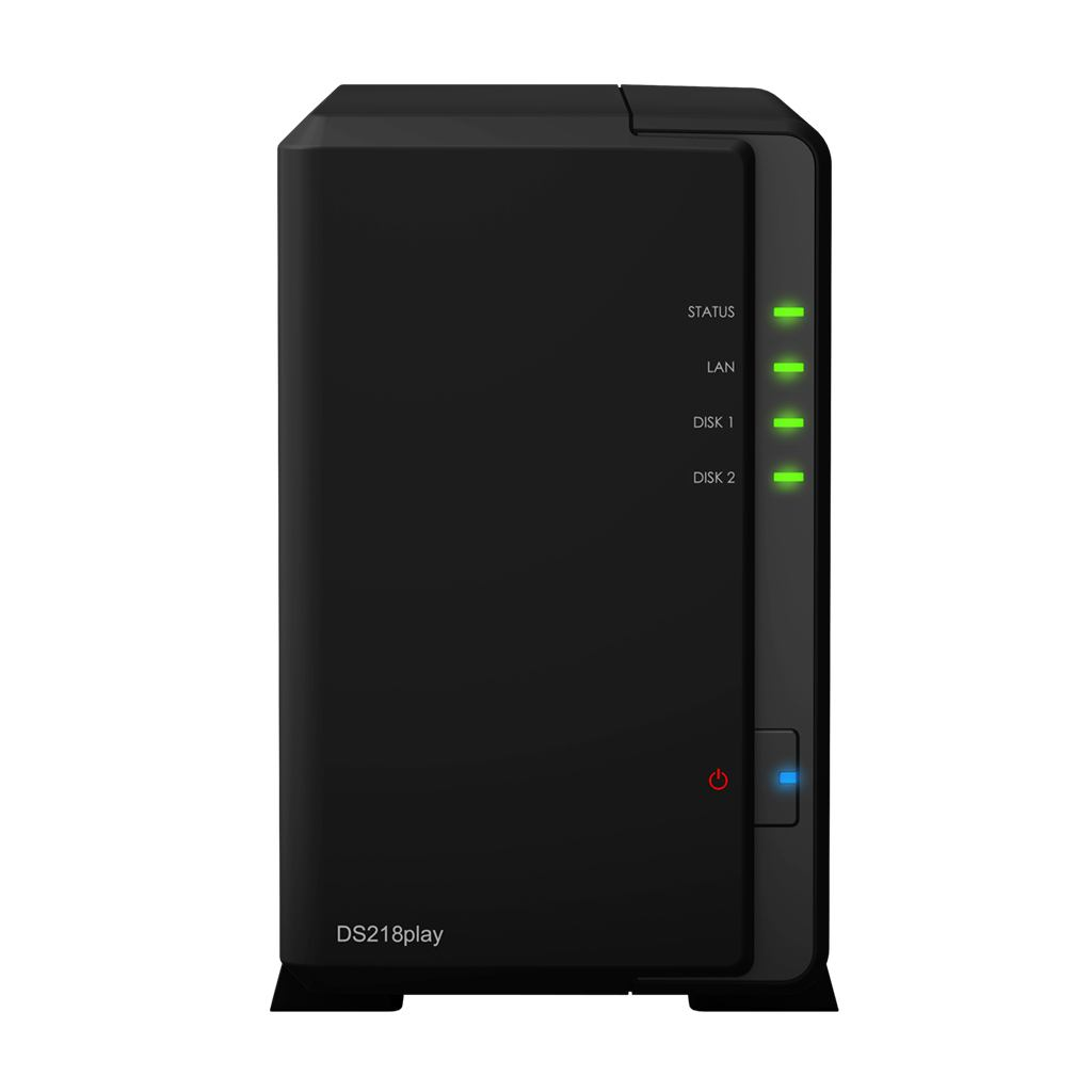 2044315-Synology-DiskStation-DS218play-Collegamento-ethernet-LAN-Scrivania-Nero