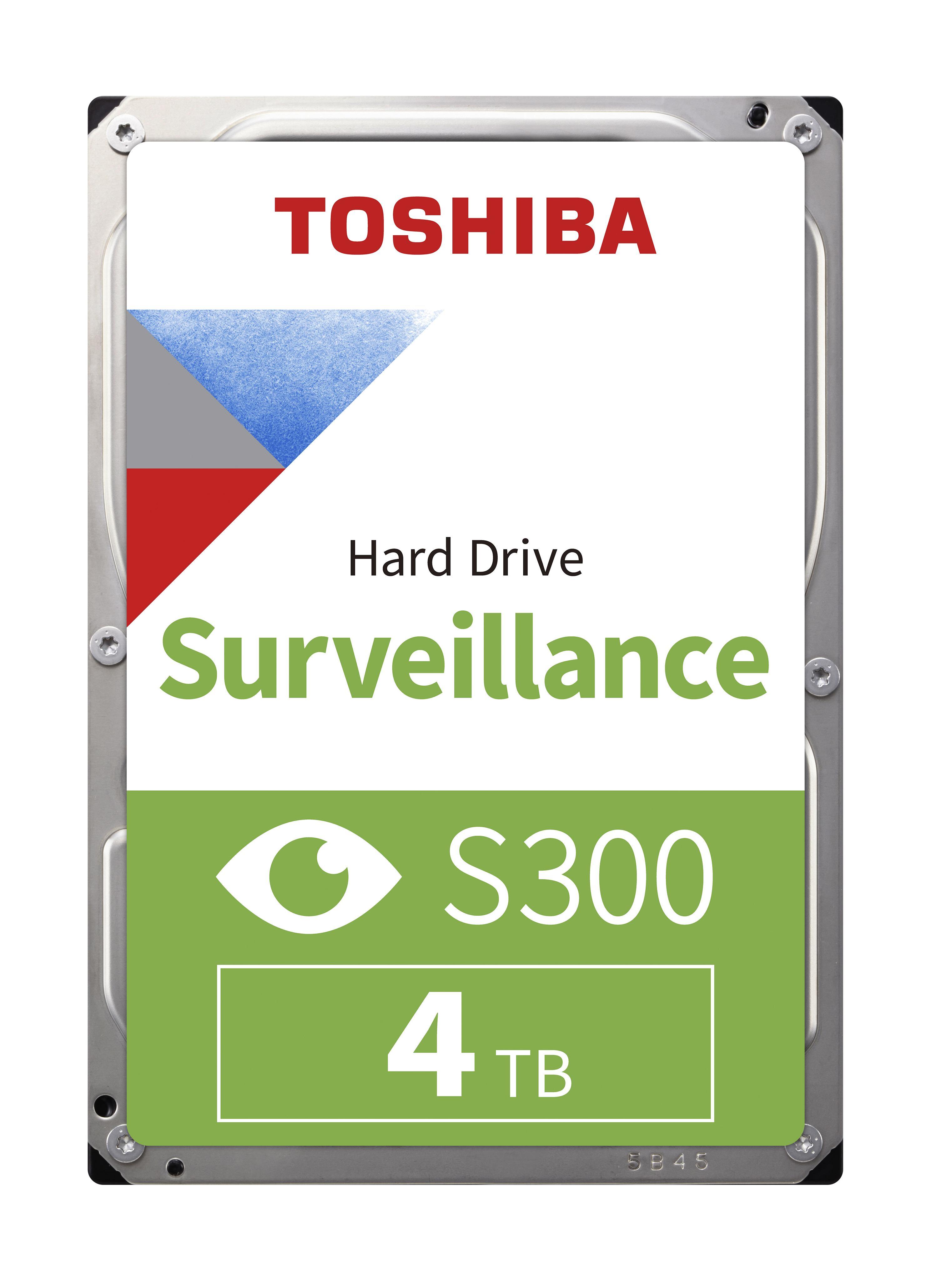5812210-Toshiba S300 Surveillance 3.5 4000 GB Serial ATA III (S300 SURVL HARD DR