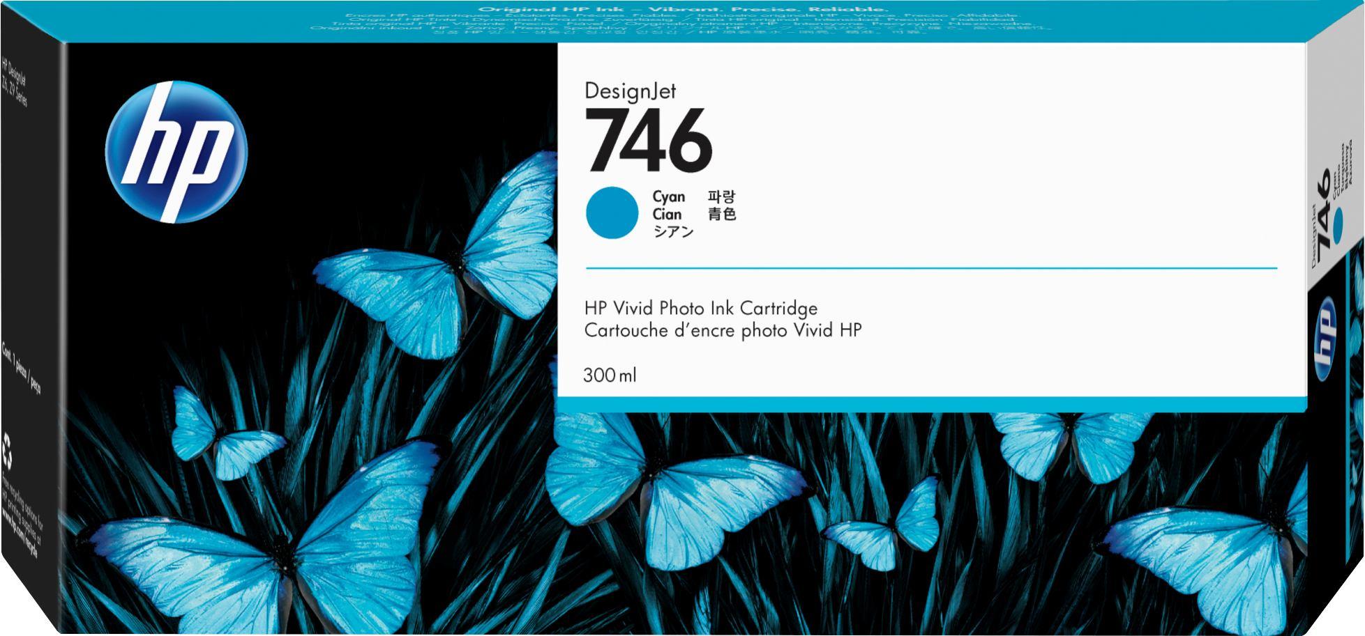 2022274-HP-746-Originale-Ciano-HP-746-300-ml-Cyan-Original-DesignJet