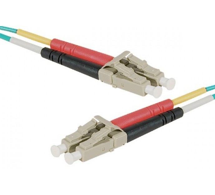 2022026-Fiber-Duplex-Patch-cord-OM4-50-125-Aqua-LC-LC-5-m