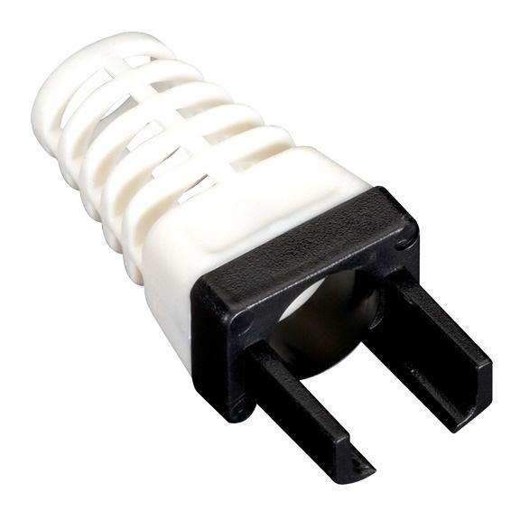 2488807-Black-Box-C6EZ-BOOT-BK-connettore-plug-per-cavo-Nero-Bianco-25-pezzo-i