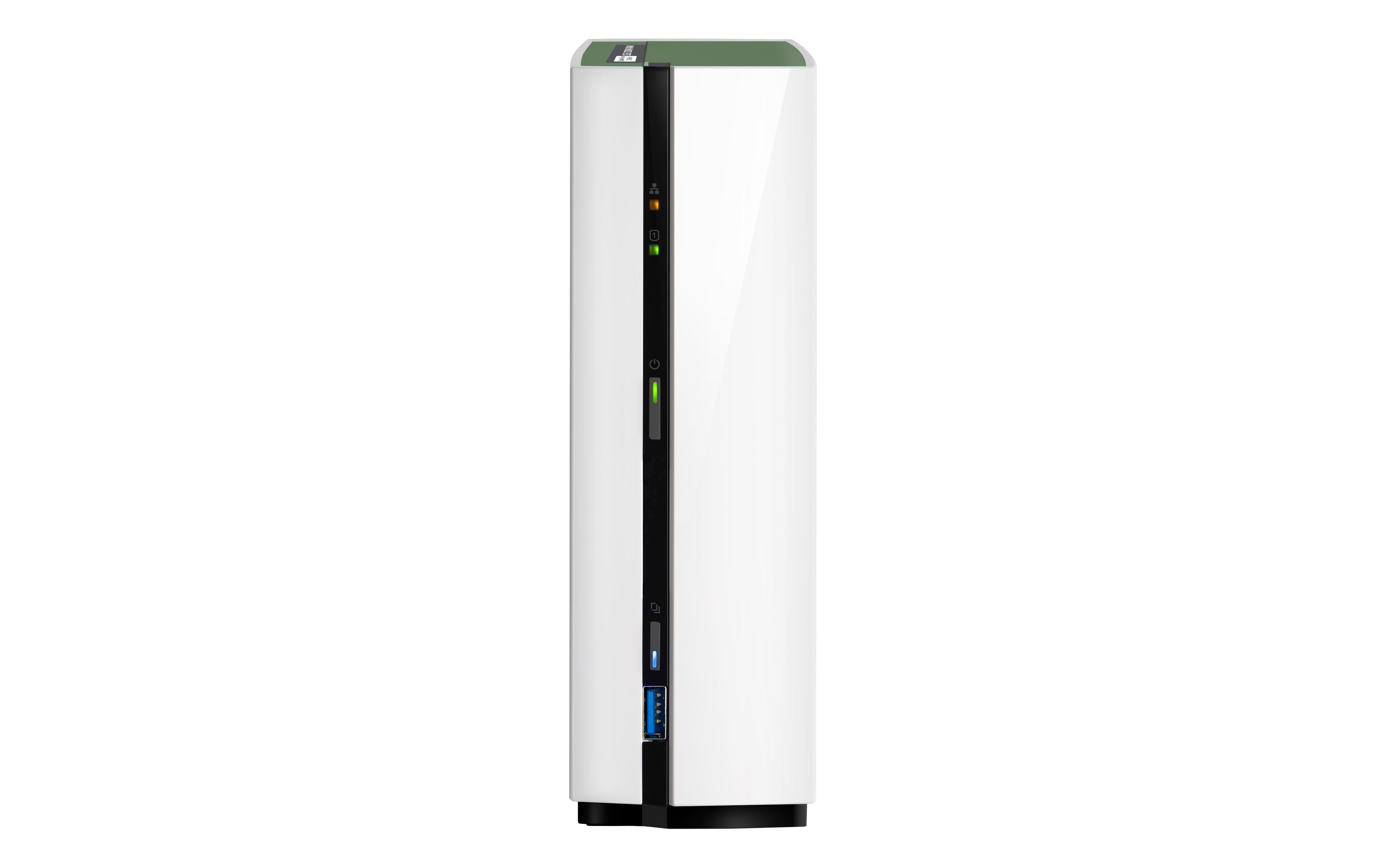 2022026-QNAP-TS-128A-Collegamento-ethernet-LAN-Mini-Tower-Bianco-NAS-K-TS-128A