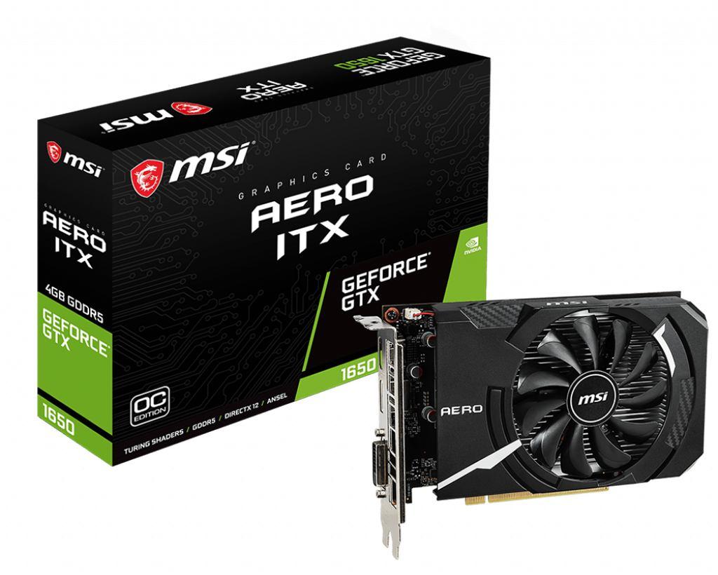 3308462-MSI V809-3061R scheda video GeForce GTX 1650 4 GB GDDR5 (GPU Nvidia GTX1