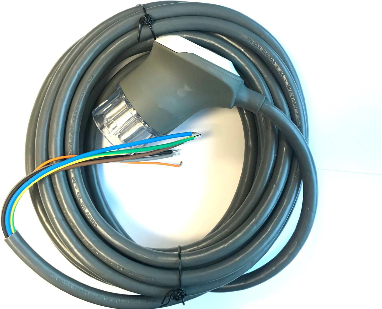 2044315-HALO-Cable-Type-2-16A-1P-7-5m-Sparepart-Warranty-3Y