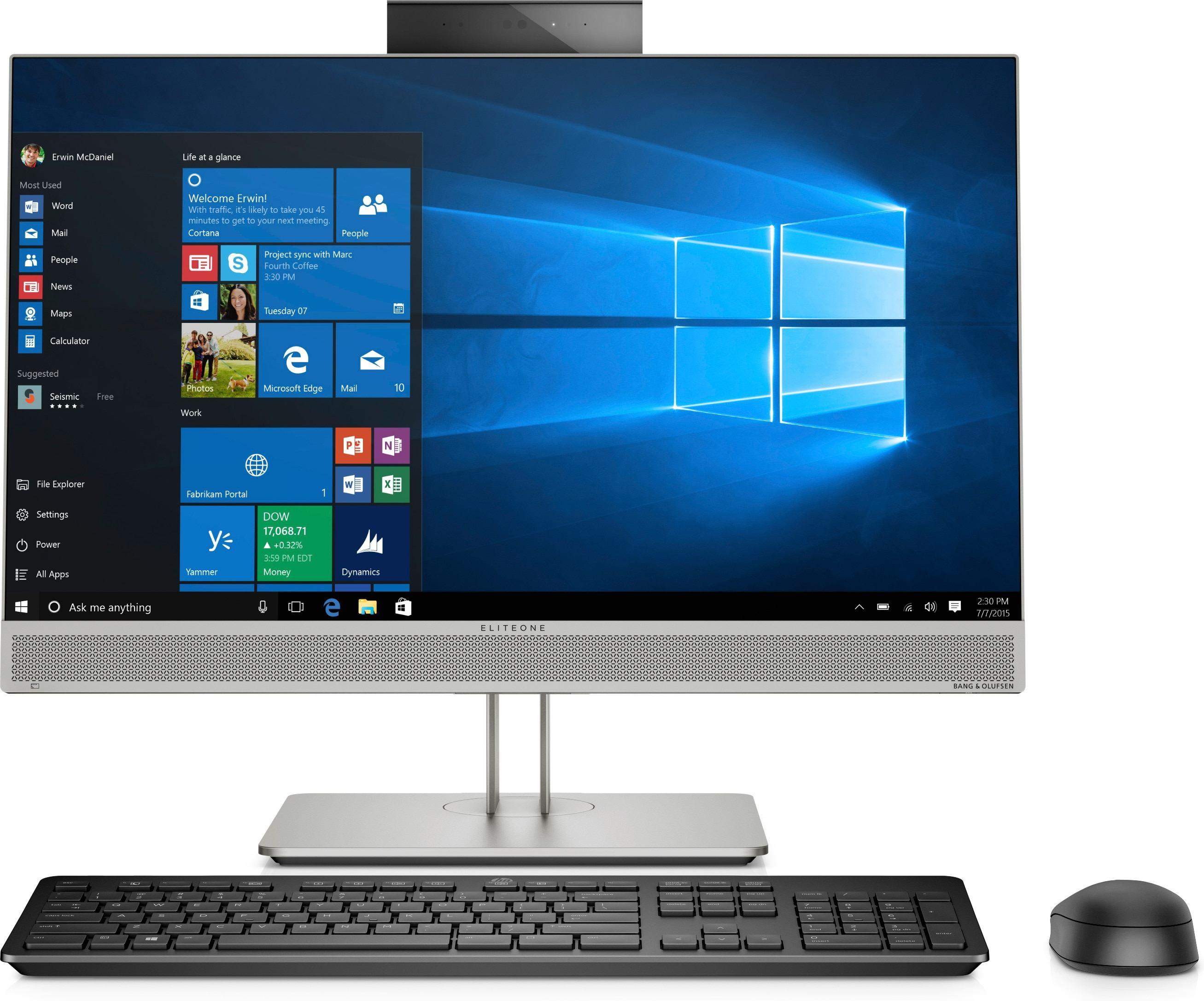 5129021-HP EliteOne 800 G5 60,5 cm [23.8] 1920 x 1080 Pixel Intel® Core™ i5 di n