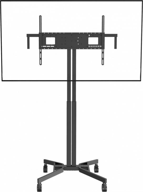 2022026-VISION-tragbare-motorisierte-Bildschirm-Standhalterung-30-JAHRE-GARANTIE