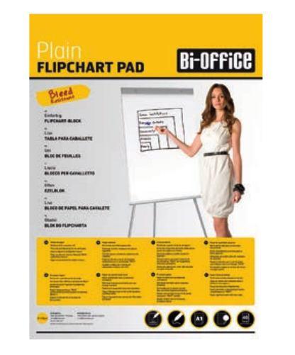 2092045-Bi-Office-A1-Flipchart-Pad-60gsm-40-Perftd-Sheets-PK5-DD