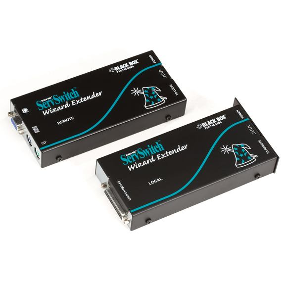 2498430-Black-Box-ServSwitch-Wizard-KVM-EXTENDER-WITH-SERIAL-AND-BUILT-IN-SKEW