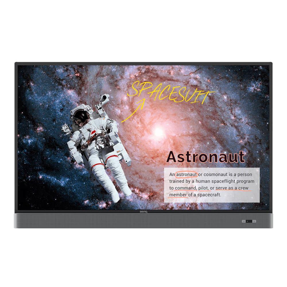5129021-Benq RM5502K Pannello piatto interattivo 139,7 cm [55] LED 4K Ultra HD N