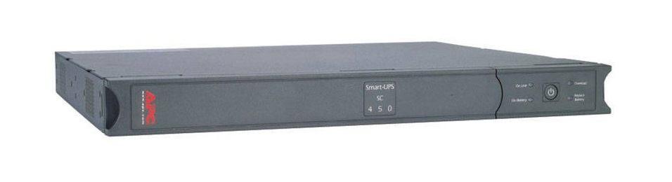 Immagine APC SMART-UPS SC 450VA 450VA GRIGIO GRUPPO DI CONTINUITà (UPS) (APC SMART-UPS S