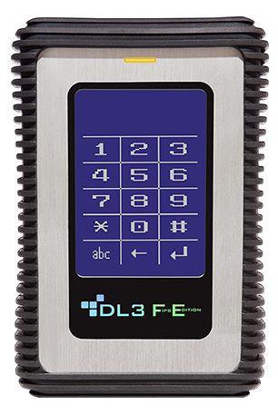 DATALOCKER DL3 FE 1TB 1000GB NERO, ACCIAIO INOSSIDABILE DISCO RIGIDO ESTERNO (DA