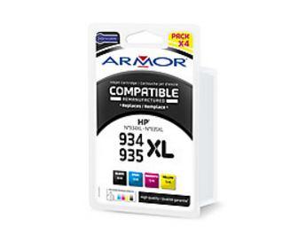 2022026-Armor-B10356R1-cartuccia-d-039-inchiostro-Nero-Ciano-Magenta-Giallo-ARMO
