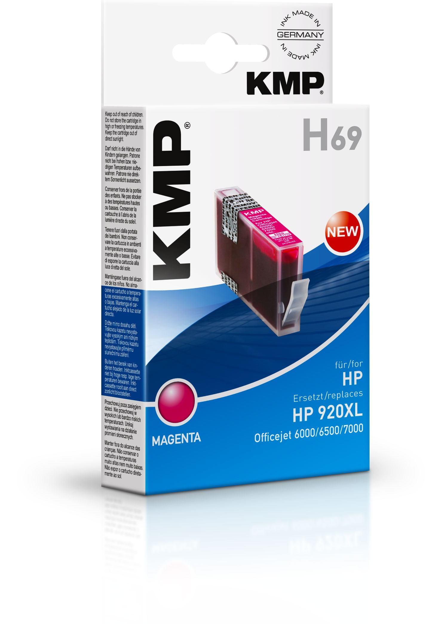 2022026-KMP-H69-cartuccia-d-039-inchiostro-Magenta-KMP-H69-13-ml-Magenta-Tint