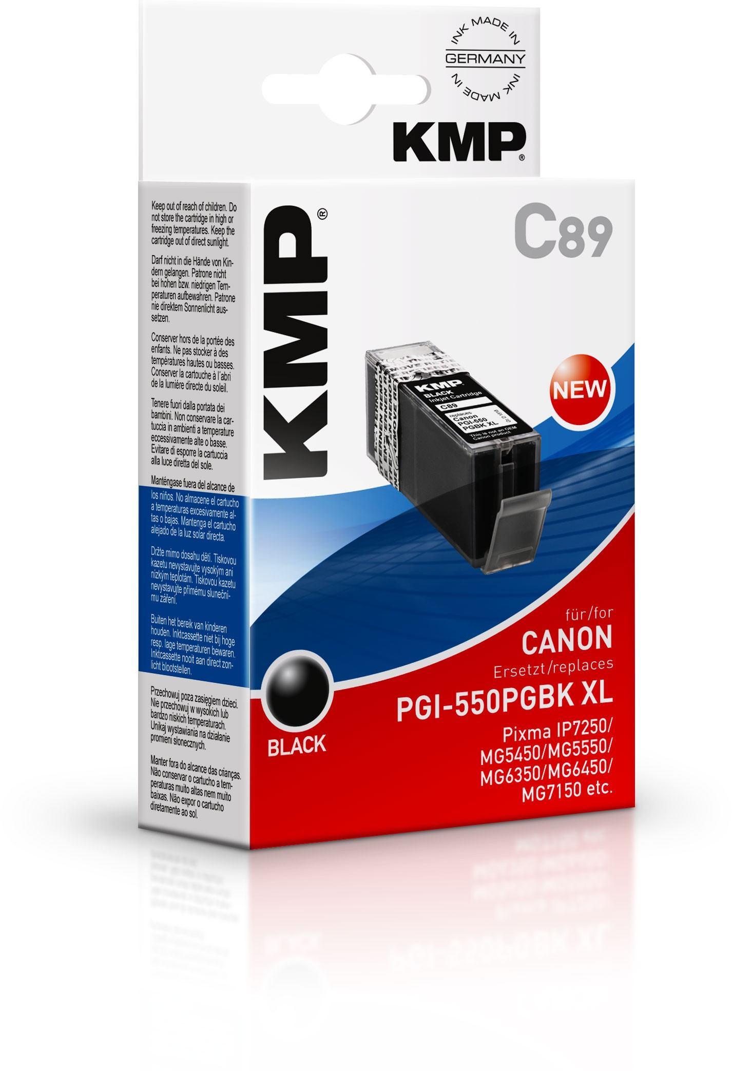 2022026-KMP-C89-cartuccia-d-039-inchiostro-Nero-1-pezzo-i-KMP-C89-28-ml-Schwar